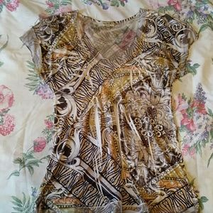 One World, Size S, cute blouse.